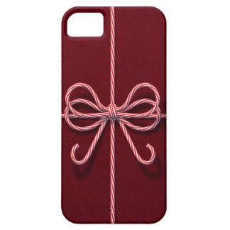 Caso del iPhone 5 del arco del bastón de caramelo iPhone 5 Coberturas