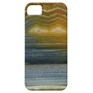 Caso del iPhone 5 del arte abstracto de la ágata iPhone 5 Carcasas