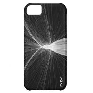 Caso del iPhone 5 del arte de la partícula Funda Para iPhone 5C