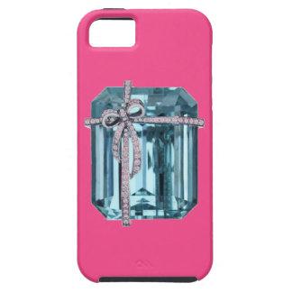Caso del iPhone 5 del arte del diamante y de la es iPhone 5 Funda