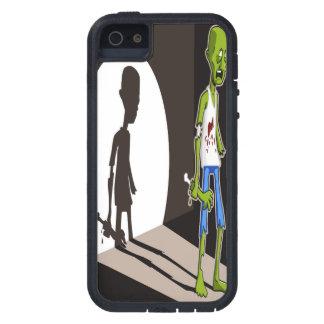Caso del iPhone 5 del arte del proyector del zombi Funda Para iPhone SE/5/5s