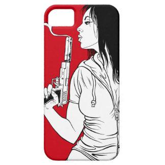 Caso del iPhone 5 del asesino de la tarjeta del dí iPhone 5 Funda