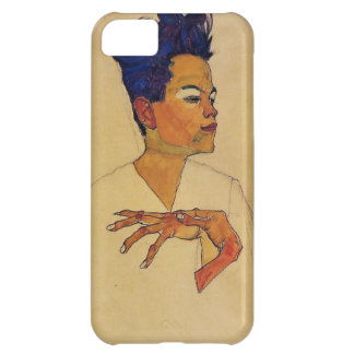 Caso del iPhone 5 del autorretrato de Egon Schiele