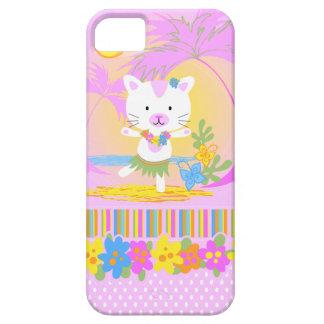 Caso del iphone 5 del baile del gato del verano iPhone 5 carcasas