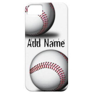 Caso del iPhone 5 del béisbol iPhone 5 Case-Mate Protectores