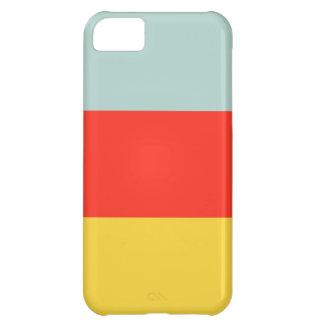 Caso del iPhone 5 del bloque del color Funda Para iPhone 5C
