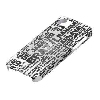 Caso del iPhone 5 del BRASIL iPhone 5 Funda