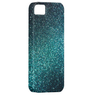 Caso del iPhone 5 del brillo de la chispa del azul iPhone 5 Cárcasa