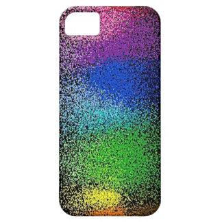 caso del iphone 5 del brillo del arco iris iPhone 5 carcasa