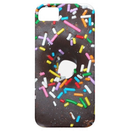 Caso del iPhone 5 del buñuelo del chocolate iPhone 5 Case-Mate Protectores