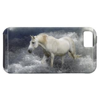 Caso del iPhone 5 del caballo blanco de la fantasí iPhone 5 Funda