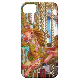 Caso del iPhone 5 del caballo del carrusel iPhone 5 Fundas