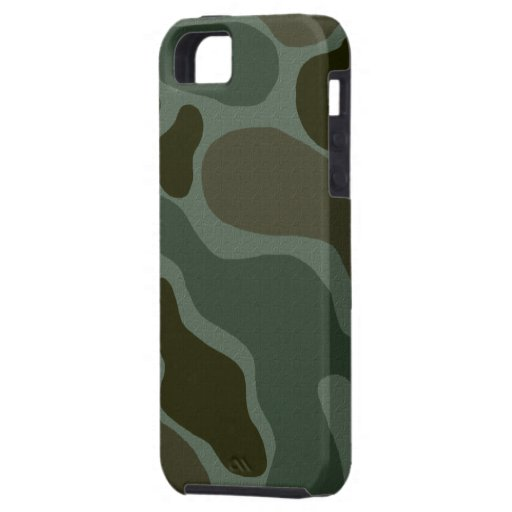 Caso del iPhone 5 del camuflaje iPhone 5 Protectores