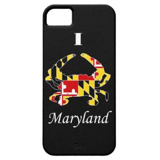 Caso del iPhone 5 del cangrejo de la bandera del M iPhone 5 Coberturas