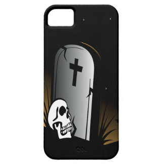 Caso del iPhone 5 del cementerio del cráneo iPhone 5 Funda