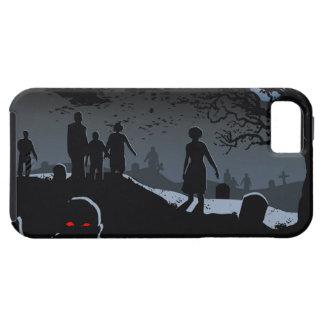 Caso del iPhone 5 del cementerio del zombi iPhone 5 Case-Mate Cárcasa