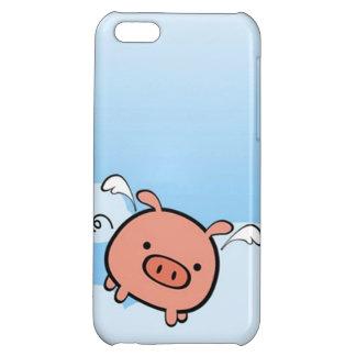 Caso del iPhone 5 del cerdo del vuelo
