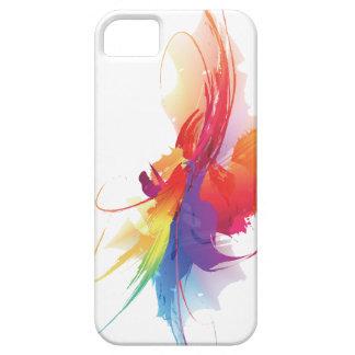 caso del iPhone 5 del chapoteo del color iPhone 5 Fundas