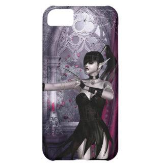 Caso del iPhone 5 del chica del gótico de Mechanik