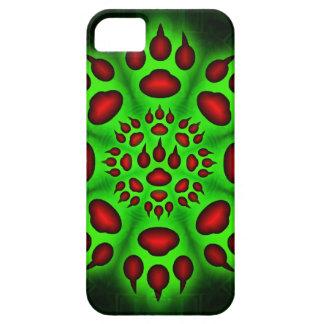 Caso del iphone 5 del círculo de la pata de los ga iPhone 5 Case-Mate protectores