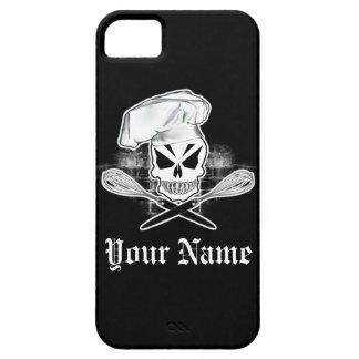Caso del iPhone 5 del cocinero del cráneo iPhone 5 Case-Mate Cobertura
