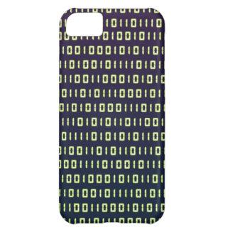 Caso del iPhone 5 del código binario