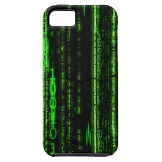 Caso del iPhone 5 del código binario Funda Para iPhone SE/5/5s