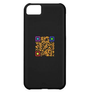 Caso del iPhone 5 del código de QR