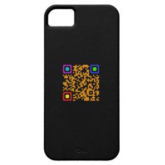 Caso del iPhone 5 del código de QR Funda Para iPhone SE/5/5s