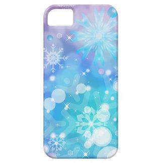 Caso del iPhone 5 del copo de nieve iPhone 5 Fundas