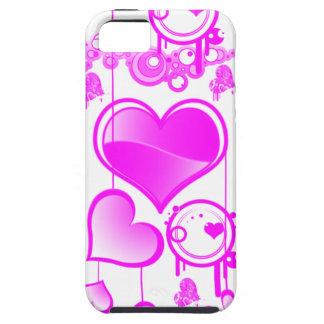 caso del iphone 5 del corazón iPhone 5 fundas