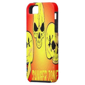 Caso del iPhone 5 del cráneo de la zona peligrosa iPhone 5 Case-Mate Funda