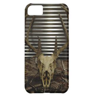 Caso del iPhone 5 del cráneo de los ciervos