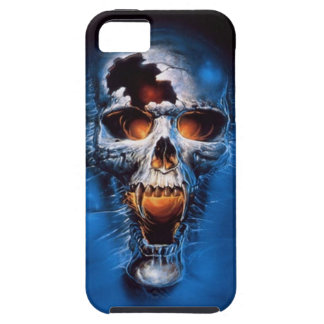 Caso del iPhone 5 del cráneo del fuego iPhone 5 Fundas