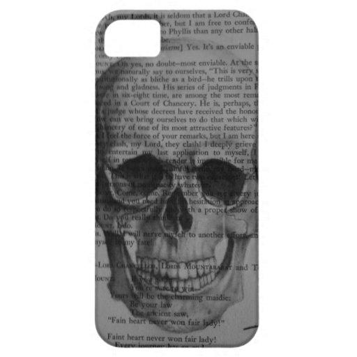 caso del iphone 5 del cráneo iPhone 5 funda