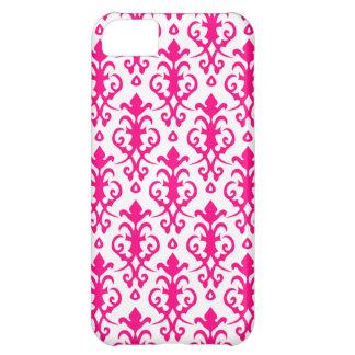Caso del iPhone 5 del damasco de las rosas fuertes