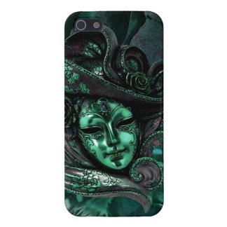 Caso del iPhone 5 del damasco del Máscara-Jade del iPhone 5 Carcasa