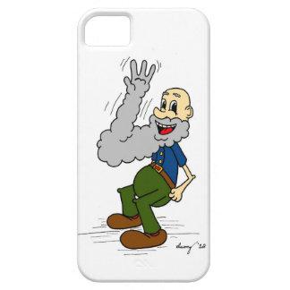 Caso del iPhone 5 del dibujo animado de la barba iPhone 5 Fundas