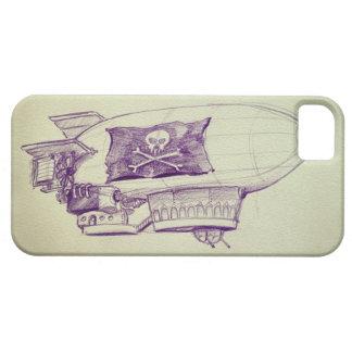 Caso del iPhone 5 del dirigible del pirata iPhone 5 Protectores