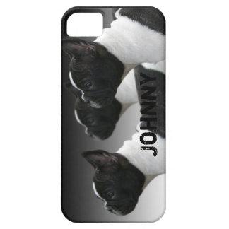 Caso del iPhone 5 del dogo francés iPhone 5 Case-Mate Protector