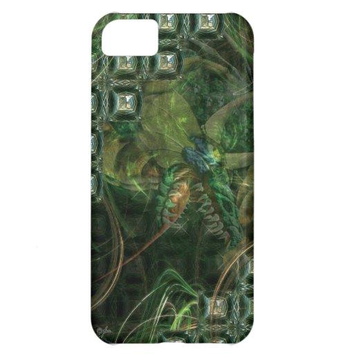 Caso del iPhone 5 del dragón de Techi Funda Para iPhone 5C