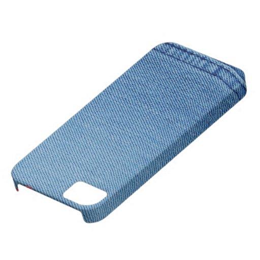 Caso del iPhone 5 del dril de algodón iPhone 5 Carcasas
