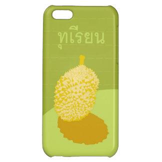 Caso del iPhone 5 del Durian con la escritura