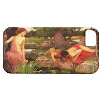 Caso del iPhone 5 del eco y del narciso del Waterh iPhone 5 Case-Mate Funda