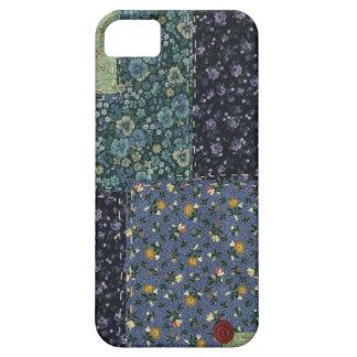 Caso del iPhone 5 del edredón de remiendo Funda Para iPhone SE/5/5s