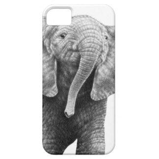Caso del iPhone 5 del elefante africano del bebé Funda Para iPhone SE/5/5s