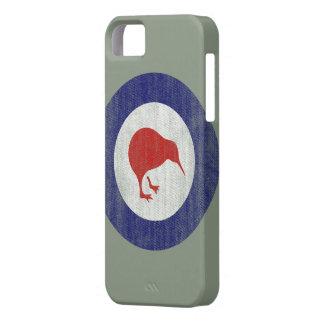 Caso del iphone 5 del emblema de Nueva Zelanda iPhone 5 Case-Mate Cárcasas