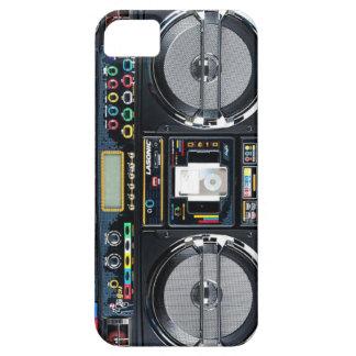 ¡Caso del iPhone 5 del equipo estéreo portátil iPhone 5 Funda