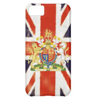 Caso del iPhone 5 del escudo de armas de Union Jac