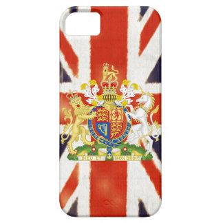 Caso del iPhone 5 del escudo de armas de Union Jac iPhone 5 Case-Mate Carcasas